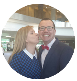 Samantha Kelly of Womens Inspire Network picture with Paul Dunphy Esquire